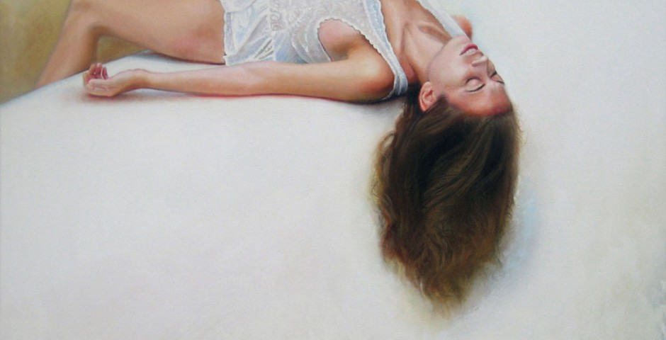 """Immersion, 30"""" x 40"""", Oil on Canvas, 2011"""